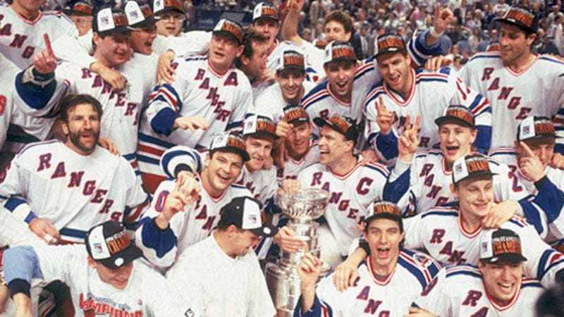 Illustration for article titled Rangers Win Stanley Cup 15 Years Ago