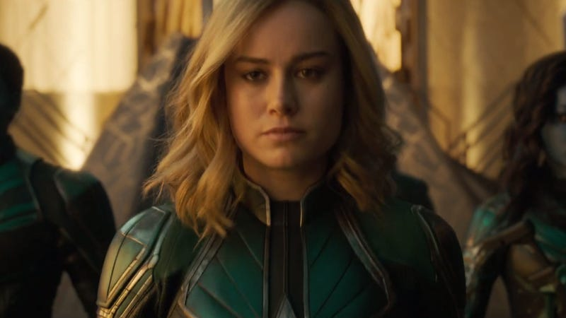 Captain Marvel is here, so bow down to the queen.