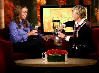 Illustration for article titled Ellen To Mariah: Admit It, You're Knocked Up