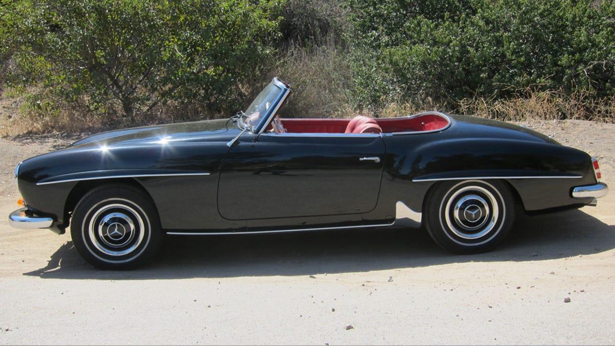 1961 Mercedes Benz 190sl The Jalopnik Classic Review 1960 300d Fuel Filter