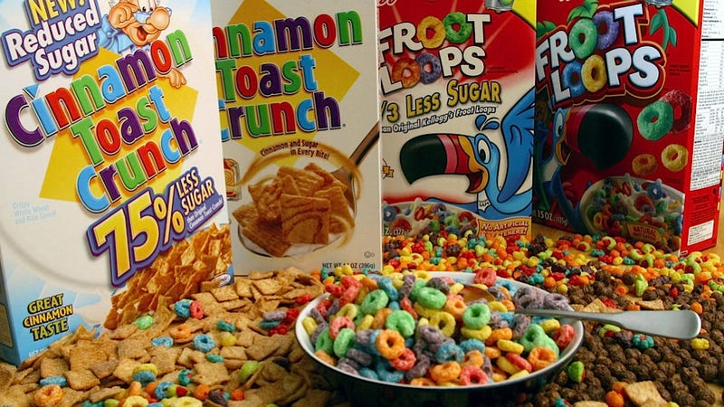 Illustration for article titled Ever Notice That There Aren't Any Female Breakfast Cereal Mascots?
