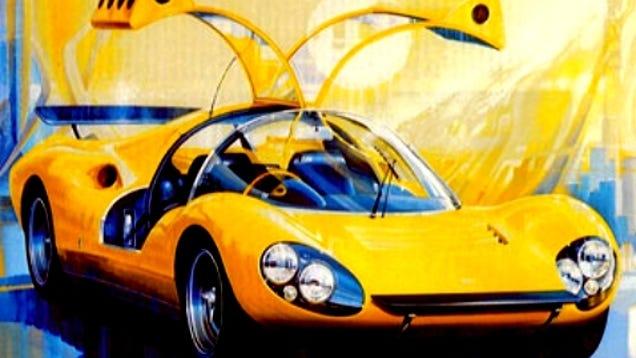 The Design Story Of Dino Berlinetta Prototipo Competizione