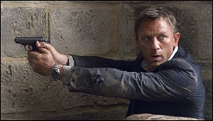 "Illustration for article titled Quantum Of Solace Is ""One Brutalizing Bummer Of A Ride"""