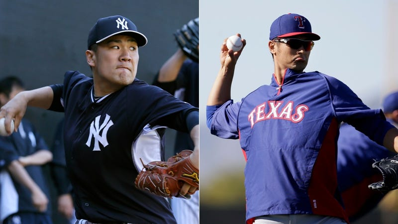 Illustration for article titled Yu Darvish Jokes That Masahiro Tanaka Is Overpaid, Everyone Freaks Out
