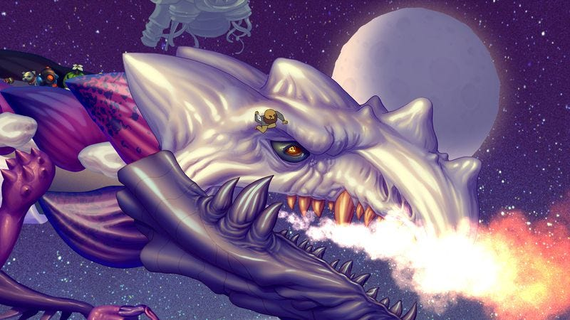 Illustration for article titled We joined a space crew and ran on dragons in IndieCade's most promising games
