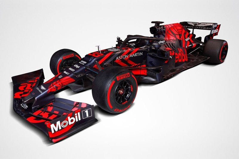 Illustration for article titled Red Bull Should Run This Livery All Season.