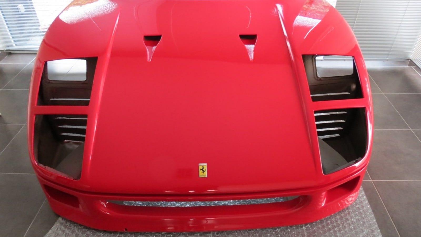 Ferrari F40 Hood For Sale, I Hope Your Pontiac Fiero Body Kit Is Ready