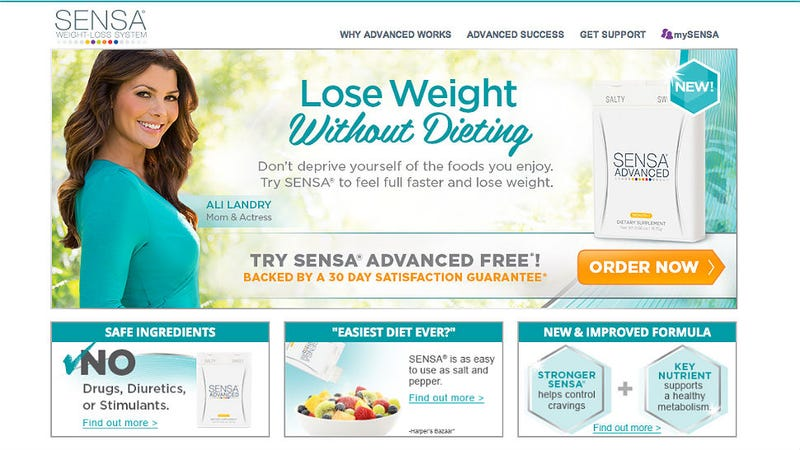 Illustration for article titled Sensa, L'Occitane, HCG Diet Direct and LeanSpa Charged With Fraud