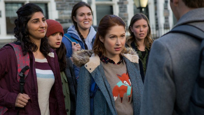 Ellie Kemper stars in Unbreakable Kimmy Schmidt (Photo: Eric Liebowitz/Netflix)