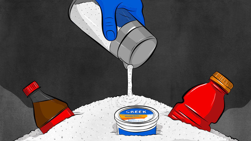 Illustration for article titled Why You Should Care About Added Sugars in Your Food
