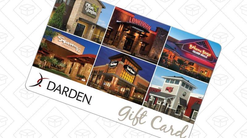 $50 Darden Gift Card, $40