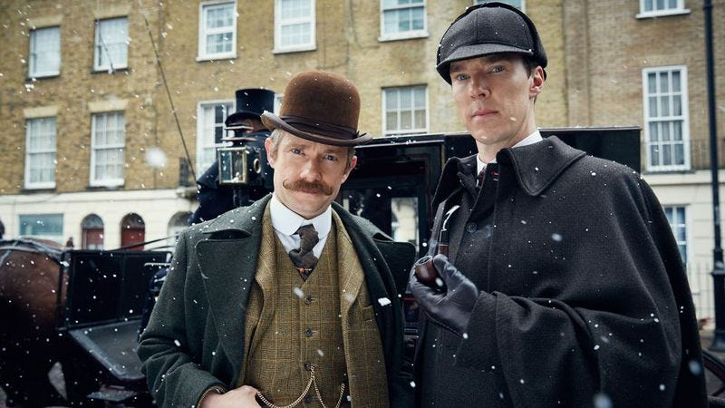 Illustration for article titled Sherlock season 4 will be afoot on January 1, 2017
