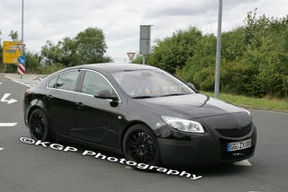 Illustration for article titled Saturn Aura Redline Preview: Opel Insignia OPC Testing At Nürburgring