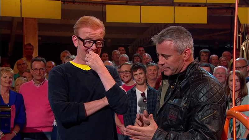 Screenshot from BBC's Top Gear