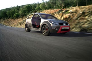 Illustration for article titled Renault Sand'up Concept Drops Top, Transforms Into Brazilian Beach Buggy-chero