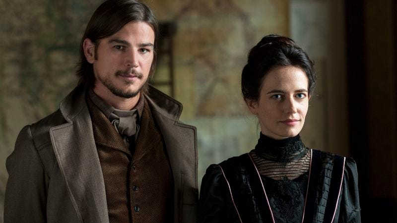Josh Hartnett and Eva Green are mildly pleased by this news. (Showtime)