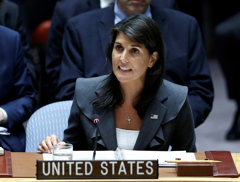 Illustration for article titled Nikki Haley: 'The U.S. Will No Longer Sit Idly By While Iran Continues To Exist'