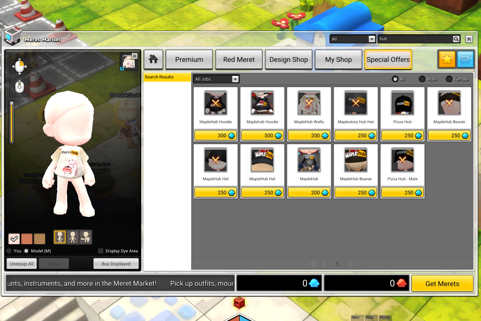 MapleStory 2 Players Keep Submitting And Selling Bigoted