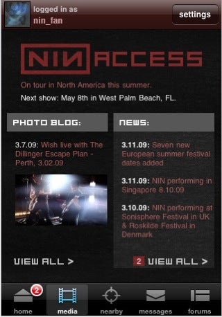 Illustration for article titled App Store rejects Nine Inch Nails update