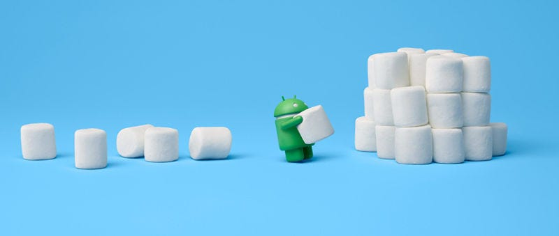 Illustration for article titled Estos son los terminales que podrás actualizar a Android 6.0 Marshmallow