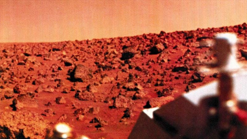 Illustration for article titled NASA Now Almost Positive Mars Is Rocky