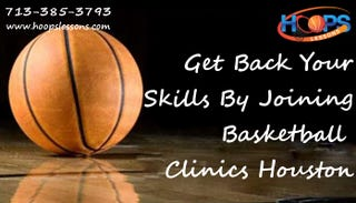 Illustration for article titled Get Back Your Skills By Joining Basketball Clinics Houston