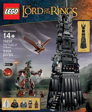 Illustration for article titled Lego announces Tower of Orthanc