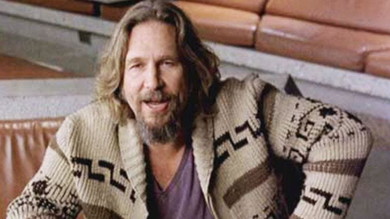 Illustration for article titled Now you can own the Dude's Big Lebowski sweater