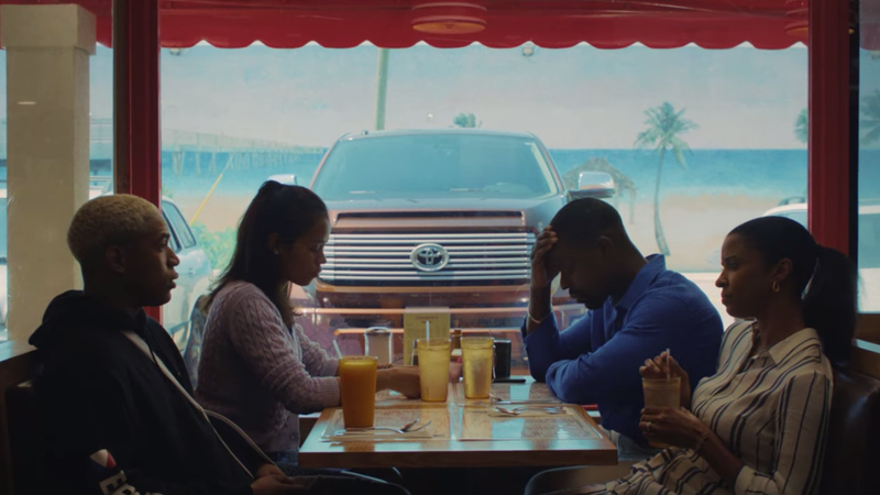 Sterling K. Brown leads the stirring first trailer for A24's buzzy Waves