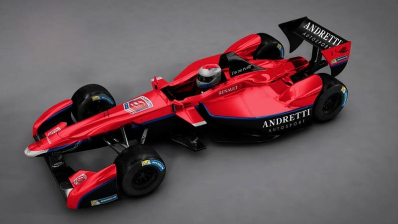 Illustration for article titled All-Electric Race Series Gets To Say The Andrettis Are Involved