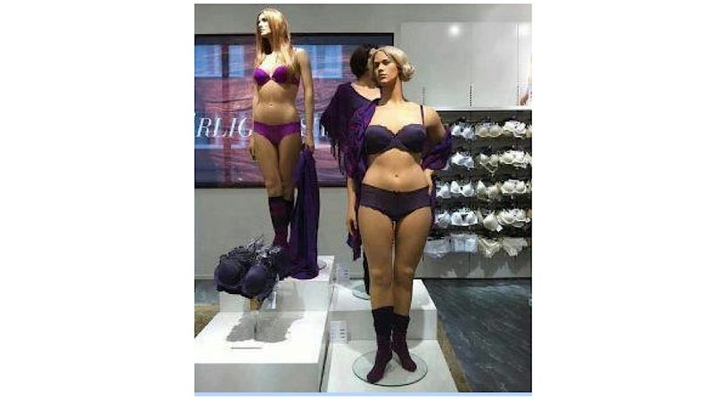 Illustration for article titled Oh Look! A Reasonably-Sized Mannequin for Real Human Women