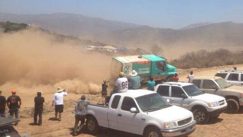 Illustration for article titled Almost Half The 2014 Baja 500 Racers Failed-- Including The Dakar Truck