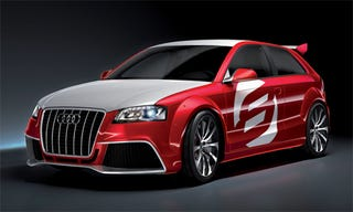 Illustration for article titled Audi A3 TDI Clubsport Quattro, Revealed