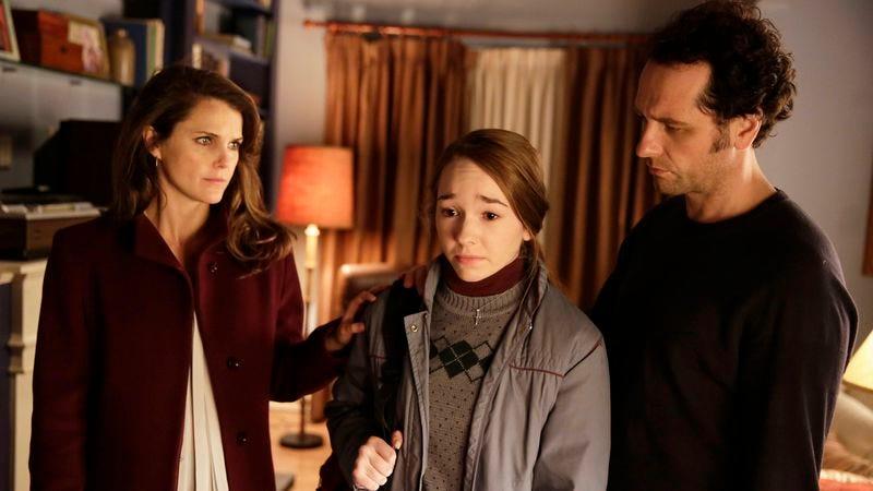 Keri Russell (left), Holly Taylor, Matthew Rhys (photo: FX/Patrick Harbron)