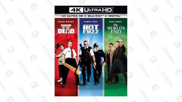 Have Some Laughs With the $25 Cornetto Trilogy Blu-Ray Collection