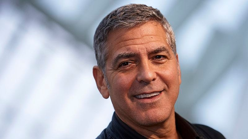 Illustration for article titled If George Clooney Ever Says Something Racist, Use The Sliders To Turn This List Of 7 Reasons He Is The Perfect Movie Star Into 7 Reasons Why He Needs To Crawl Into The Ocean And Die