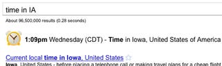Illustration for article titled Avoid Embarrassment with Google's Quick Time Zone Conversions