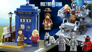 Illustration for article titled Lego Doctor Who is One Step Closer 2: The Closening