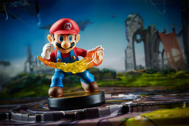 Illustration for article titled Nintendo's New Amiibo Stands Are Terrific