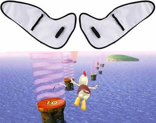 Illustration for article titled Oh Come On: Wii Wings Are the Worst Wii Crapcessory Yet