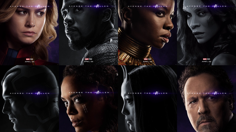 Avengers 4 Poster The Gang Alive And Dead Is All Here