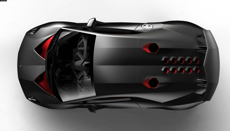 Illustration for article titled Lamborghini Sesto Elemento: First Photos