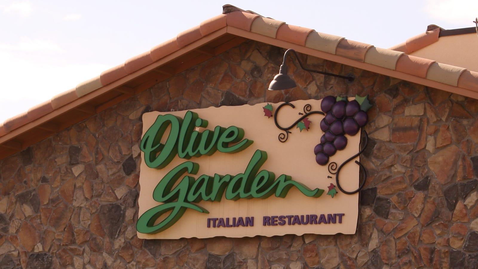 New Indicator Of Economic Health Olive Garden Deals