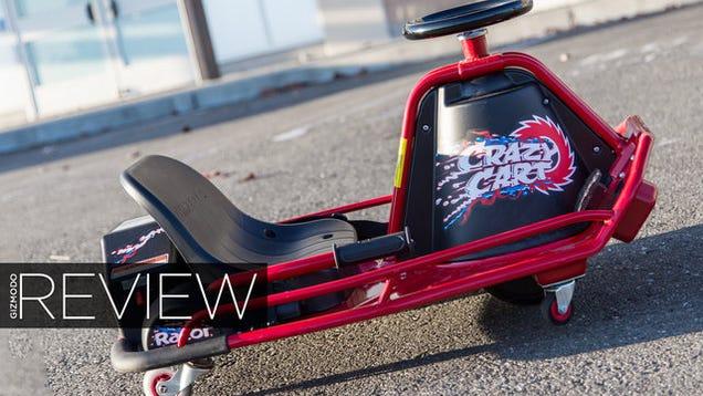razor crazy cart review even more fun than it looks. Black Bedroom Furniture Sets. Home Design Ideas