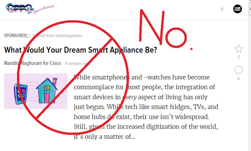 Illustration for article titled Clarification: still NO