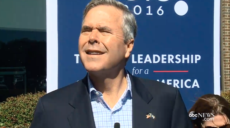 Illustration for article titled Jeb Bush, Noted Eyewear Hawk, Has Quietly Switched to Contacts