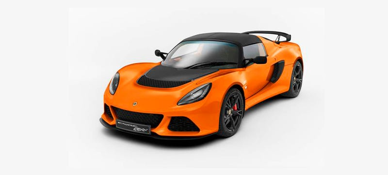 Illustration for article titled Lotus Exige S Club Racer: So Hardcore I'm Amazed It Has Seats