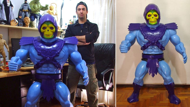 Illustration for article titled This Life-Size Skeletor Action Figure Is the Ultimate Collectible