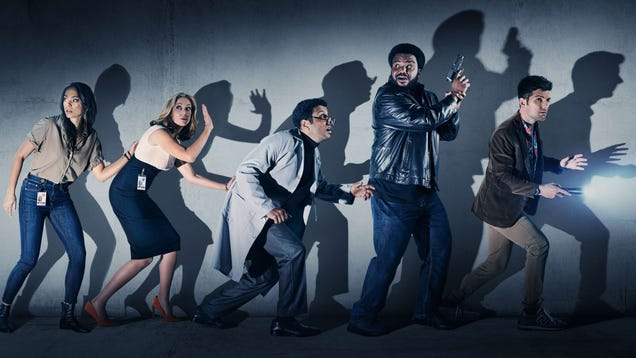 Ghosted's canceled heroes can't handle rejection
