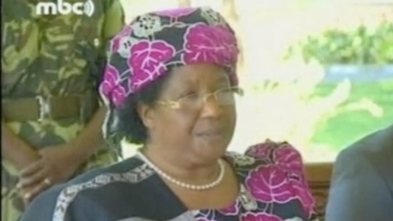Illustration for article titled Joyce Banda Becomes Southern Africa's First Lady Head of State After Rumors of a Power Struggle